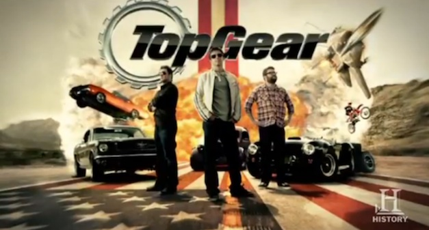 Top Gear tests Electric Vehicles